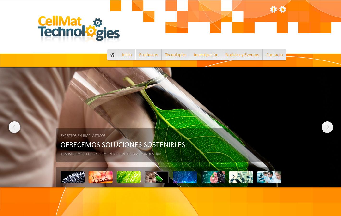 CellMat Technologies materiales celulares