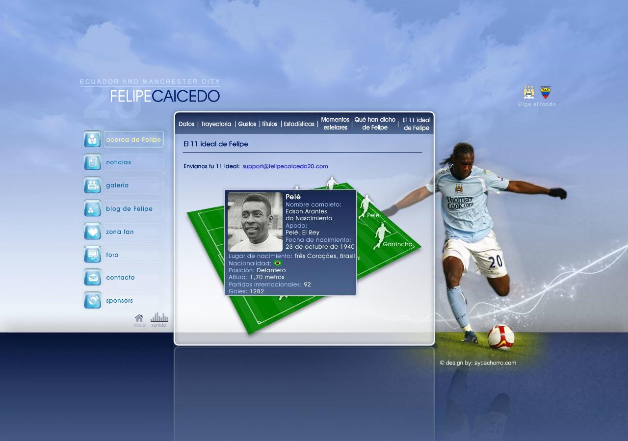 Felipe Caicedo Manchester City footballer