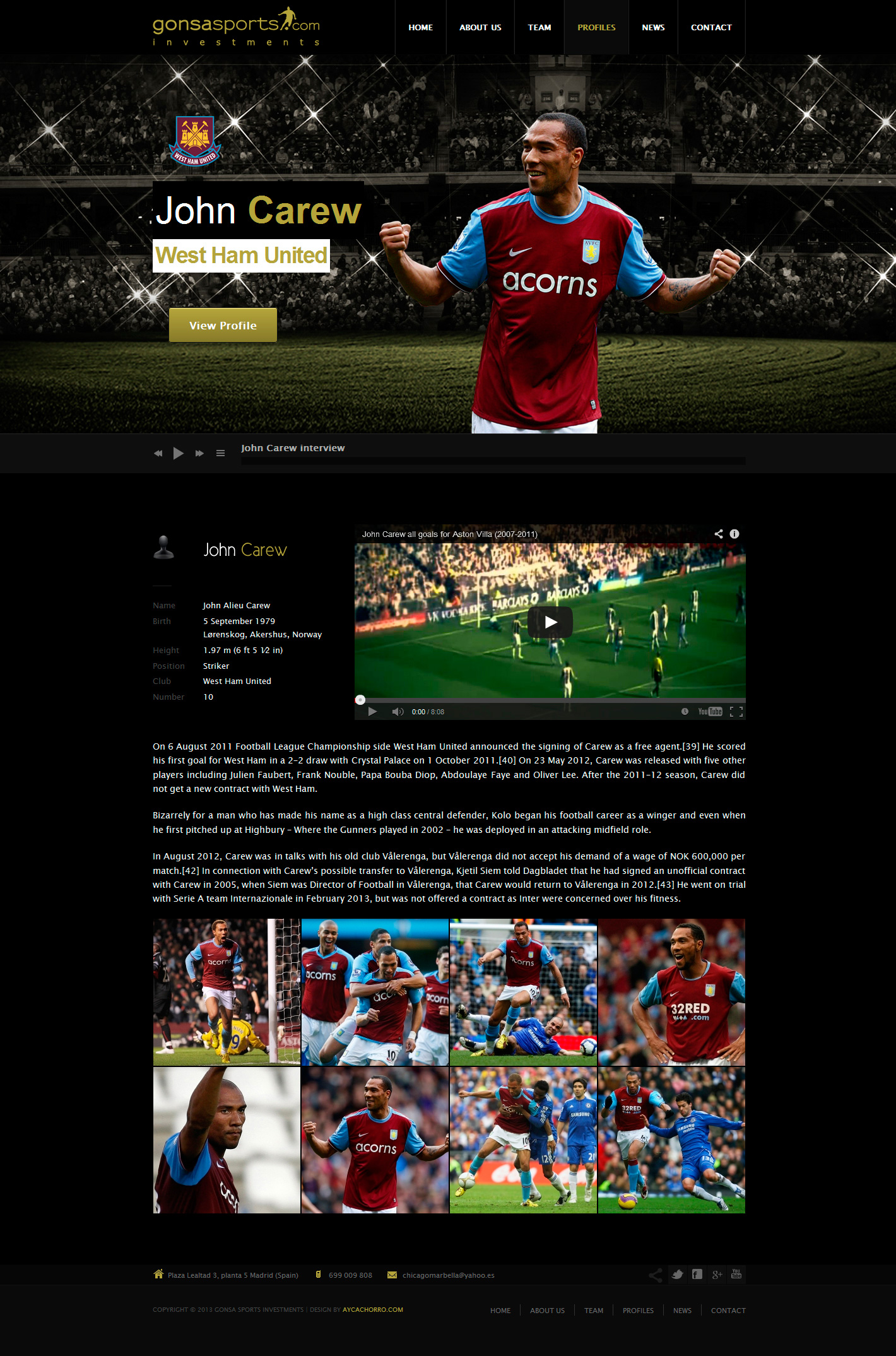 Gonsa Sports Investments