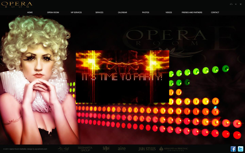 Discoteca Opera Room Marbella